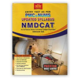 Vital PMC & NUMS Updated NMDCAT Admission Test – Pakistan Book