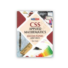CSS Applied Mathematics Solved Papers (2007-2021) - JWT